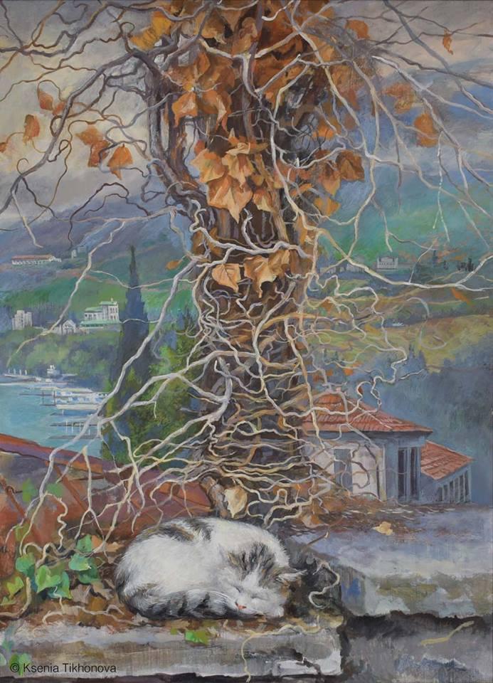 коты Ксения Тихонова